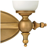 Hinkley 5742BR Yorktown 2 Light 16 inch Brushed Bronze Bath Light Wall Light alternative photo thumbnail