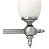 Hinkley 5744AN Yorktown 4 Light 33 inch Antique Nickel Bath Light Wall Light alternative photo thumbnail