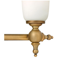 Hinkley 5744BR Yorktown 4 Light 33 inch Brushed Bronze Bath Light Wall Light alternative photo thumbnail