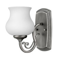 Hinkley Lighting Olivia 1 Light Bath Vanity in Antique Nickel 5750AN photo thumbnail