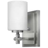 Laurel 1 Light 5 inch Brushed Nickel Bath Sconce Wall Light