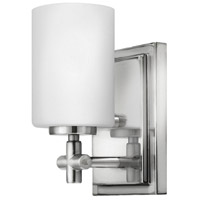 Hinkley 57550PN Laurel 1 Light 5 inch Polished Nickel Bath Sconce Wall Light photo thumbnail