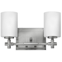 Laurel 2 Light 13 inch Brushed Nickel Bath Wall Light