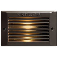 Hinkley 58015BZ-LED Signature 120V 3.8 watt Bronze Landscape Deck in LED, Line Voltage