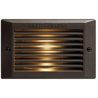 Hinkley 58025BZ Signature 120V 25 watt Bronze Landscape Deck, Line Voltage