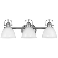 Hinkley 5813CM Rowan 3 Light 24 inch Chrome Bath Light Wall Light