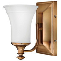 Alice 1 Light 5 inch Brushed Bronze Bath Sconce Wall Light