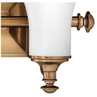 Hinkley 5832BR Alice 2 Light 17 inch Brushed Bronze Bath Light Wall Light alternative photo thumbnail