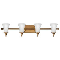 Hinkley 5834BR Alice 4 Light 37 inch Brushed Bronze Bath Vanity Wall Light photo thumbnail
