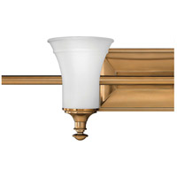 Hinkley 5834BR Alice 4 Light 37 inch Brushed Bronze Bath Light Wall Light alternative photo thumbnail