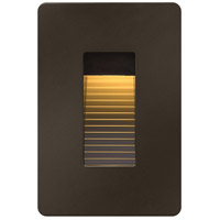 Hinkley Lighting Luna 1 Light LED Step in Bronze 58504BZ