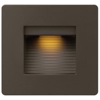 Hinkley 58506BZ Luna 120V 4 watt Bronze Landscape Deck, Line Voltage