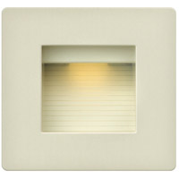 Hinkley Lighting Luna 1 Light Step Light in Light Almond 58506LA