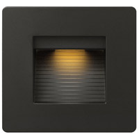 Hinkley 58506SK3K Luna 120V 4.00 watt Satin Black Landscape Deck and Patio Light