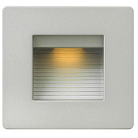 Hinkley Lighting Luna 1 Light Step Light in Titanium 58506TT