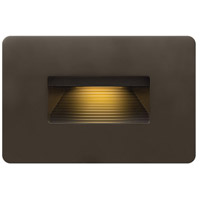 Hinkley 58508BZ Luna 120V 4 watt Bronze Landscape Deck, Line Voltage