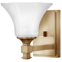 Abbie 2 Light 7 inch Brushed Caramel Bath Sconce Wall Light in 1