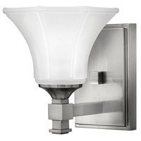 Hinkley 5850BN Abbie 2 Light 7 inch Brushed Nickel Bath Sconce Wall Light in 1