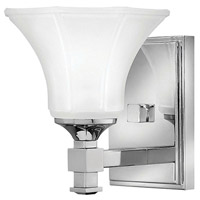 Abbie 2 Light 7 inch Chrome Bath Sconce Wall Light in 1