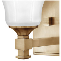 Hinkley 5850BC Abbie 1 Light 7 inch Brushed Caramel Bath Sconce Wall Light alternative photo thumbnail
