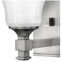 Hinkley 5850BN Abbie 1 Light 7 inch Brushed Nickel Bath Sconce Wall Light alternative photo thumbnail