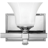 Hinkley 5850CM Abbie 1 Light 7 inch Chrome Bath Sconce Wall Light alternative photo thumbnail