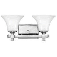 Abbie 2 Light 16 inch Chrome Bath Light Wall Light