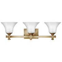 Abbie 3 Light 25 inch Brushed Caramel Bath Light Wall Light