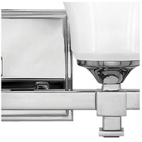 Hinkley 5854CM Abbie 4 Light 35 inch Chrome Bath Light Wall Light alternative photo thumbnail