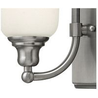 Hinkley 58780BN Colette 1 Light 6 inch Brushed Nickel Bath Sconce Wall Light, White Etched Glass alternative photo thumbnail