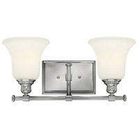 Colette 2 Light 17 inch Chrome Bath Light Wall Light