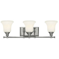 Colette 3 Light 26 inch Chrome Bath Wall Light