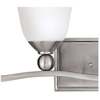Hinkley 5894BN Bolla 4 Light 36 inch Brushed Nickel Bath Light Wall Light in Incandescent, Etched Opal alternative photo thumbnail