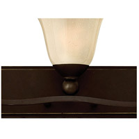 Hinkley 5895OB Bolla 5 Light 46 inch Olde Bronze Bath Light Wall Light in Light Amber Seedy alternative photo thumbnail