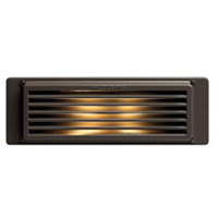Hinkley 59024BZ-LED Line Voltage 120V 3.8 watt Bronze Landscape Brick and Step Light Line Voltage