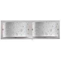 Hinkley 5922BN-LED2 Daphne LED 16 inch Brushed Nickel Bath Light Wall Light