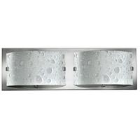 Hinkley 5922CM Daphne 2 Light 16 inch Chrome Bath Light Wall Light in G9