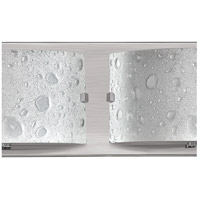 Hinkley 5923BN Daphne 3 Light 24 inch Brushed Nickel Bath Light Wall Light in Etched Bubble Art alternative photo thumbnail