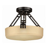 Hinkley Tahoe Semi Flush 3Lt Foyer in Regency Bronze 5941RB photo thumbnail
