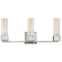 Hinkley 5973PN Xander 3 Light 23 inch Polished Nickel Bath Light Wall Light