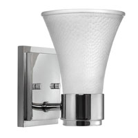 Hinkley Lighting Zoe 1 Light Bath Vanity in Chrome 5980CM photo thumbnail