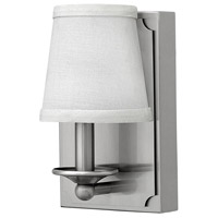 Hinkley Lighting Avenue 1 Light Sconce in Brushed Nickel 61222BN