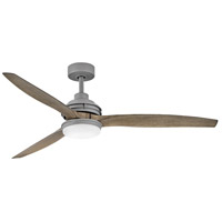 Hinkley 900160FGT-LWD Artiste 60 inch Graphite with Driftwood Blades Ceiling Fan
