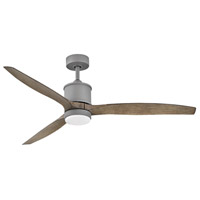 Hinkley 900760FGT-LWD Hover 60 inch Graphite with Driftwood Blades Ceiling Fan