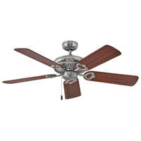 Hinkley 901152FBN-NID Lafayette 52 inch Brushed Nickel with Cherry/Mahogany Blades Ceiling Fan