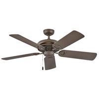 Hinkley 901152FMM-NID Lafayette 52 inch Metallic Matte Bronze with Walnut/Metallic Matte Bronze Blades Ceiling Fan