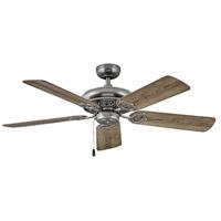 Hinkley 901152FPW-NID Lafayette 52 inch Pewter with Driftwood/Teak Blades Ceiling Fan