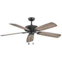 Hinkley 901256FMB-NID Grove 56 inch Matte Black with Driftwood/KOA Blades Ceiling Fan