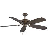 Hinkley 901256FMM-NID Grove 56 inch Metallic Matte Bronze with Walnut/Metallic Matte Bronze Blades Ceiling Fan