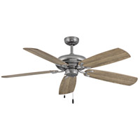 Hinkley 901256FPW-NID Grove 56 inch Pewter with Driftwood/Teak Blades Ceiling Fan